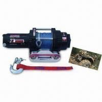 China Auto Winch with 3 Stage Planetary Gear Train and 138:1 Gear Ratio on sale