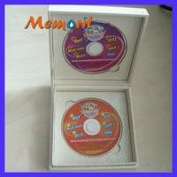China Customized / OEM 180MB 8cm CD / VCD/CD-ROM Duplication Services With Silkscreen Printing on sale