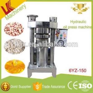 China lianke 6YZ-150 hydraulic peanut oil press machine kernel corn mini oil press avocado oil wholesale