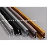 Customized Aluminium Picture Frame Mouldings Anodized Treatment Solid Structure