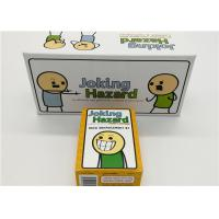 China English Version Joking Hazard Card Games For Grown Ups Easy Operation wholesale