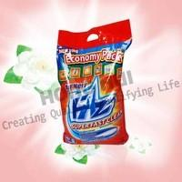 China hot sale 25g,30g, 50g, 75g, 500g,100g good quality washing powder/blue washing powder with cheapest price wholesale