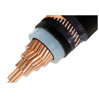 China Medium Voltage XLPE Insulated Power Cable Single Core / 3 Core Copper Conductor XLPE Insulated Cable N2XSY wholesale