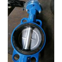 China Cast Iron/Ductile Iron Pn10/Pn16 Dn80 Wafer Butterfly Valve on sale