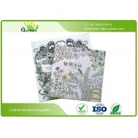 China Coloring Books for Sdults Relieve Stress , Eco Secret Garden Adult Drawing Books wholesale