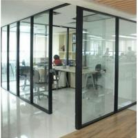 China Glass Partitions for Modern Offices / room divider / shopping hall on sale