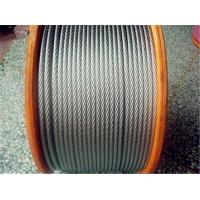 China High Strength Elevator Stainless Steel Wire Cable 1770MPA / 1960MPA wholesale
