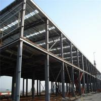 Buy cheap Construction Pre Manufactured Steel Buildings Workshop Workhouse Building from wholesalers