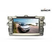 """Buy cheap HD 1024*600 New Models 8"""" Capacitive For Corolla 2 Din Android Car DVD from wholesalers"""