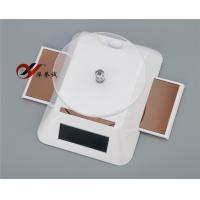 China Advertising Rectangular Solar Powered Turntable Rotary Display Stand With Two Wings wholesale