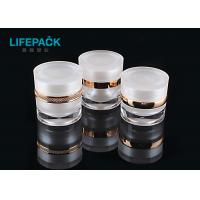 China Lightweight Small Plastic Cosmetic Containers With Lids 30g 50g Capacity wholesale