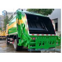 China Dongfeng Double Axle Garbage Removal Truck 6cbm-10cbm 6550*2090*2580 Mm Dimension wholesale