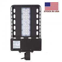 China IP65 Outdoor Led Parking Lot Lights UL Dlc 4.2 Universal Adapter Aluminum / PC Shell wholesale