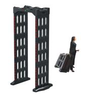 China Portable Walk Through Body Metal Detectors Archway Door Frame Machine AC110V~240V wholesale