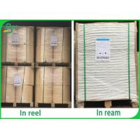 One Side Gloss FSC Whit Kraft Paper Roll 30GSM 40GSM for food packaging