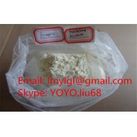 China Healthy Yellow Trenbolone Powder Trenbolone Acetate / Tren Acetate For Safe Bodybuilding wholesale