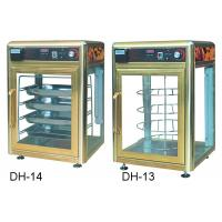 China 900W Food Display Showcase Electric Revolving Pizza Display Warmer With Humidifier wholesale