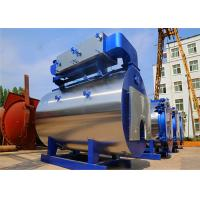 China High Efficiency Fire Tube Gas Diesel Oil Fuel Fired Condensing Steam Boiler for food factory wholesale