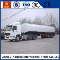 Buy cheap 3 axles/tri-axle 45cbm q325 steel material fuel tank semi trailer from wholesalers