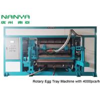 China Automatic Pulp Molding Equipment / Rotary Recycle Paper Egg Tray Manufacturing Machine wholesale