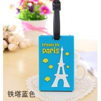 China Company logo luggage tag with insert card wholesale