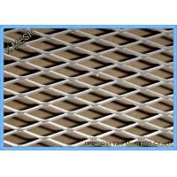 China Rodent proof decorative Cladding Decorative Heavy Duty Expanded Metal Mesh / Expanded Aluminum Mesh wholesale