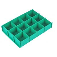 China 4x8 Anti - Static Corrugated Corrugated Plastic Dividers With ISO9001 / SGS / RoHS wholesale