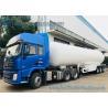 Buy cheap 3 Axles 12 Wheels 56M3 LPG Tank Semi Trailer Transport Bower Trailer from wholesalers