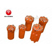 Buy cheap Thread Button Top Hammer Drill Bits With Tungsten Carbide Material from wholesalers