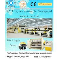 China Computerized 3 / 5 / 7 Ply High Speed Corrugated Carton Making Machine ISO9001 wholesale