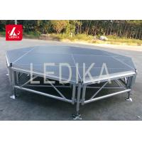Buy cheap Latest High Performing Save Volume Acrylic Round DJ Platform Stage from wholesalers