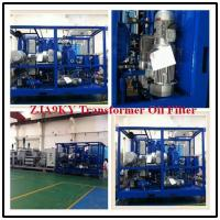 China Small Offline Transformer Oil Recycling Plant, Zja Transformer Oil Recycling Machine wholesale