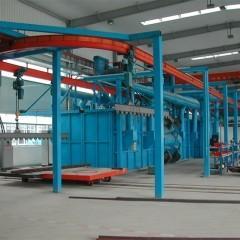China hanger shot blasting machine wholesale