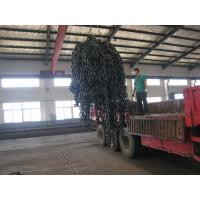 China black painted stud link anchor chain wholesale