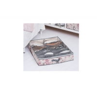 China Bloom Pattern Cozy Organizer , 12 Compartment Under The Bed Shoe Organizer wholesale