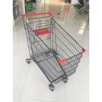 China 270 L Large Capacity Supermarket Grocery Shopping Cart With 4 Casters wholesale