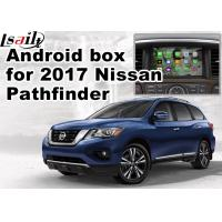 China Nissan Pathfinder Andorid Car Multimedia Navigation System , Online Navigation Video Play wholesale