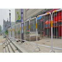China Hot Dip Galvanized Temporary Mesh Fencing Crowd Control Barrier Barrier Stand wholesale