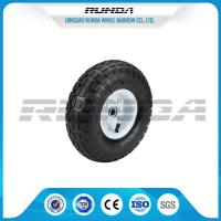 China Comb Pattern 10 Inch Pneumatic Wheels Large Friction Against Tire Skidding on sale