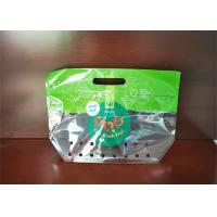 China Food Grade Fresh Grape Fruit With Handle Stand Up Pouch Ziplock Bag For Grape wholesale