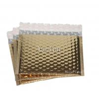 China Gold Metallic Bubble Mailing Envelopes 6 * 10 Anti - Tremble Gloss For Packaging on sale
