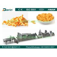 China Full Automatic Puff Snack Machine , High Speed Snack Food Processing Line wholesale