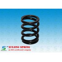 China 7MM Wire Machinery Springs / Compression Damping Springs Black Powder Coated wholesale