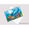 China Souvenir 3D Lenticular Postercard Colorful PET + 0.16mm Coated Paper wholesale