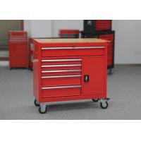 China Heavy Duty Color Customizable 6 Drawer Tool Box Garage Storage With Door wholesale
