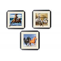 China Office / Hotel Decoration Animal Picture 5d Lenticular Picture With Frame wholesale