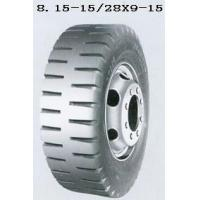 China 28x9-15 ,  8.15-15 Pneumatic Forklift Tire Tyre wholesale