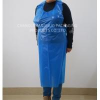 China Blue Medical Disposable Polythene Aprons On The Roll , 200Pcs / Roll Packing wholesale