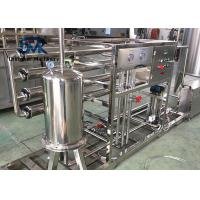 China Automatic Water Treatment System 4 Tons Water Purifying Machine With Hydranautics Filter Membrane wholesale