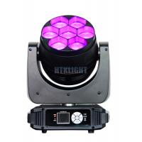 China 7 x 40W RGBW 4 in1 Osram LED Wash Moving Head Disco Lights High Brightness wholesale